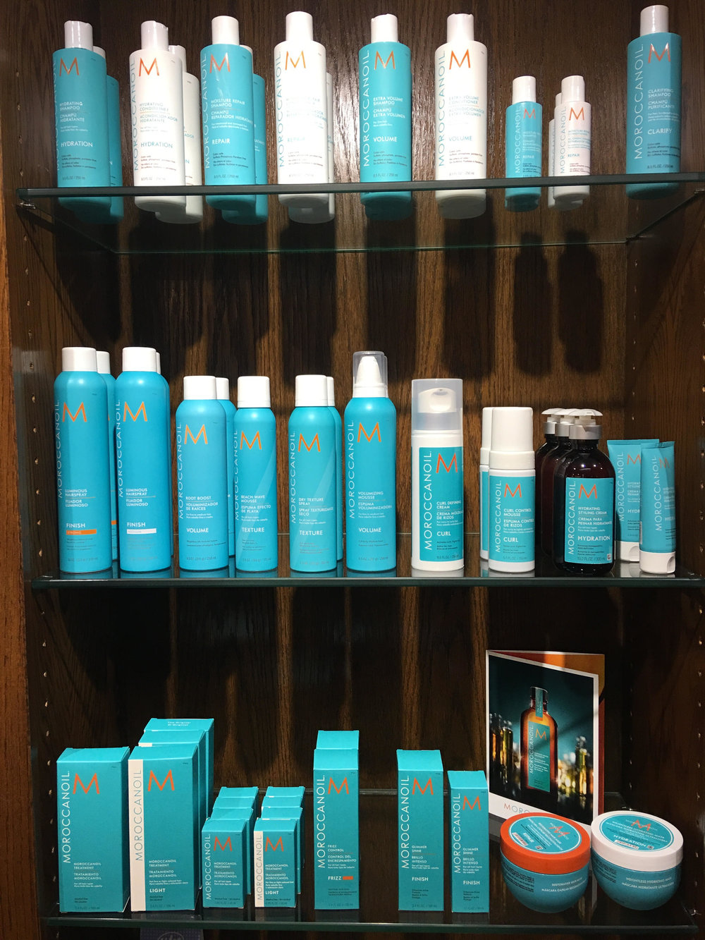Taliesin Salon Spa at the Ranch (303-465-6363)  has an amazing Moroccan Oil hair care line!