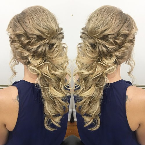 Denver Wedding Hairstylist And Updo Specalist L Preslee Hair Style