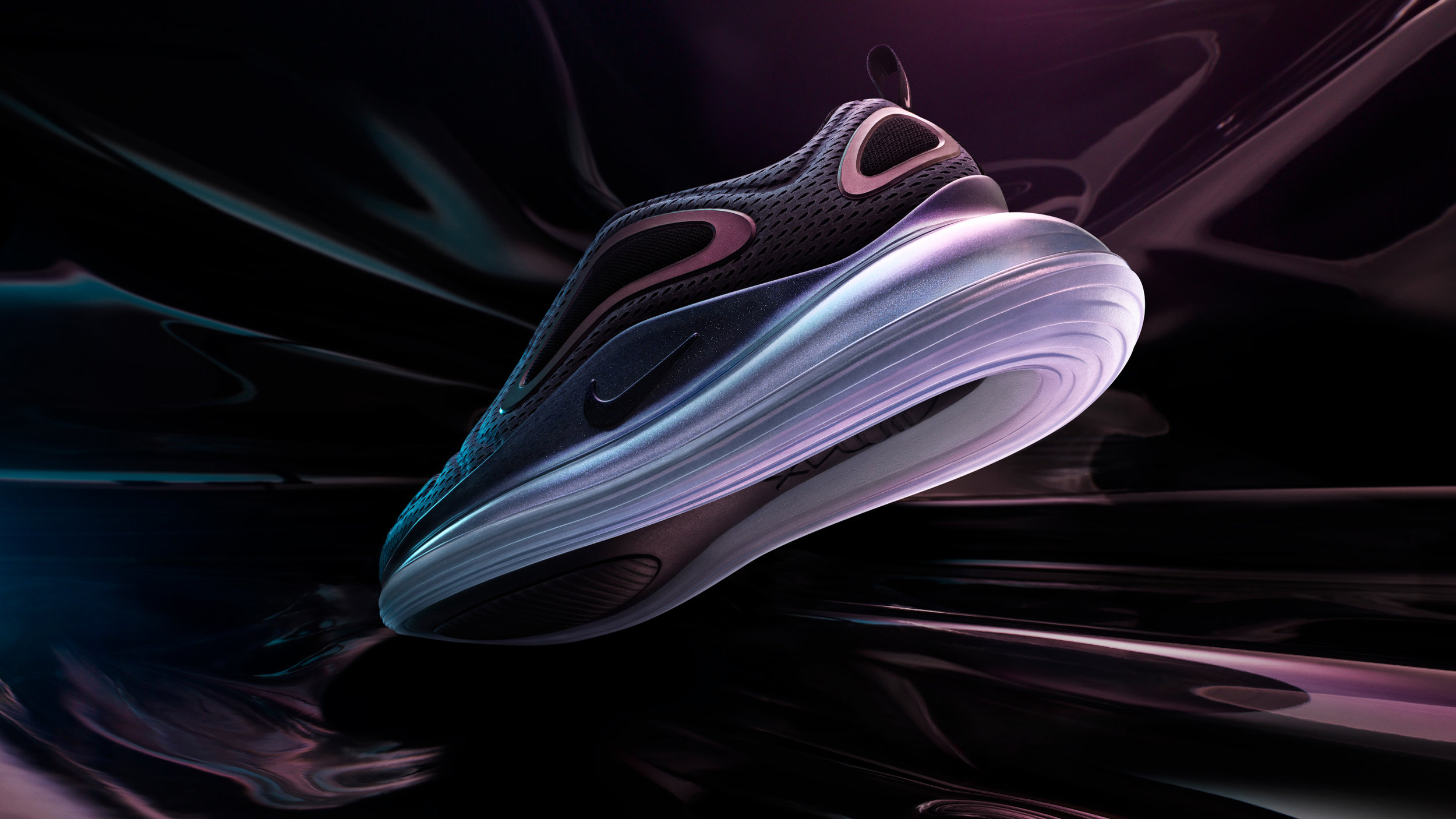 another chance e21ce 42cec Teaser image shot for the Nike Air Max 720s first reveal.