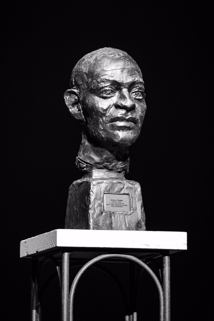 Final Casting example; McCoy Tyner bust