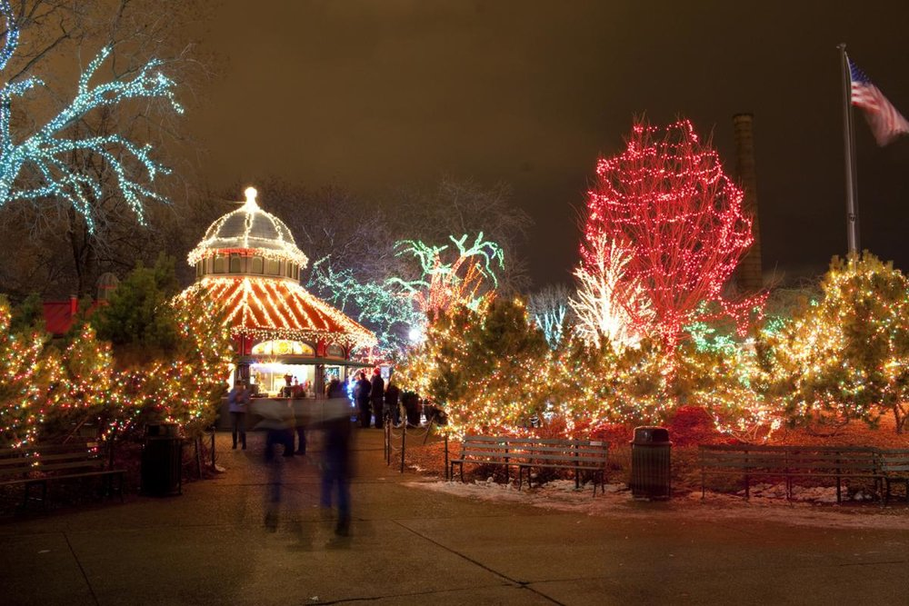 Christmas Lights at Lincoln Park Zoo