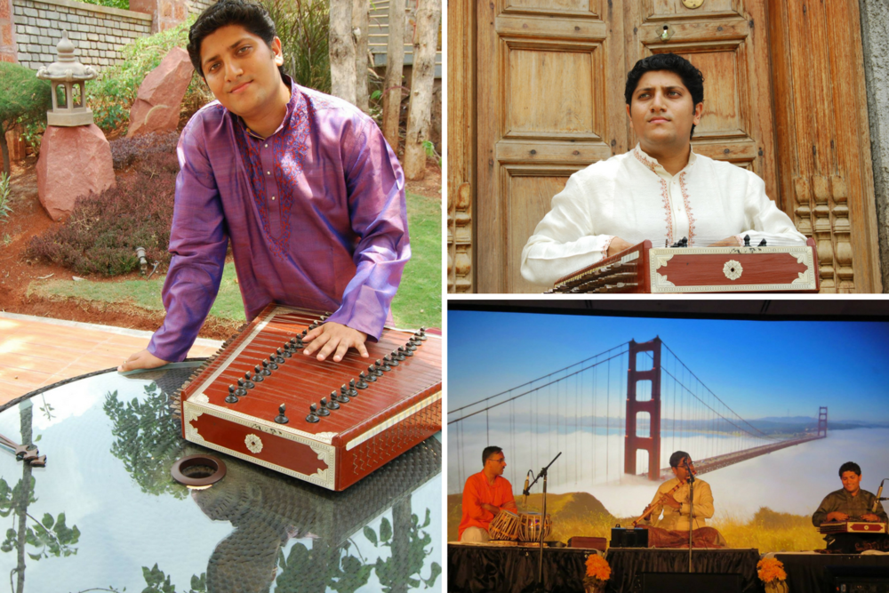 "Kunal Gunjal   (Santoor Artist on ""Nature of All Things"")  is a disciple Pandit Shivkumar Sharma (who is considered to be a pioneer of the santoor). He has played classical music concerts around the world, and been featured on both Hollywood and Bollywood soundtracks. He was looking to see how he could try and expand the repertoire of the santoor to encompass more than classical, and broaden his musical horizons."