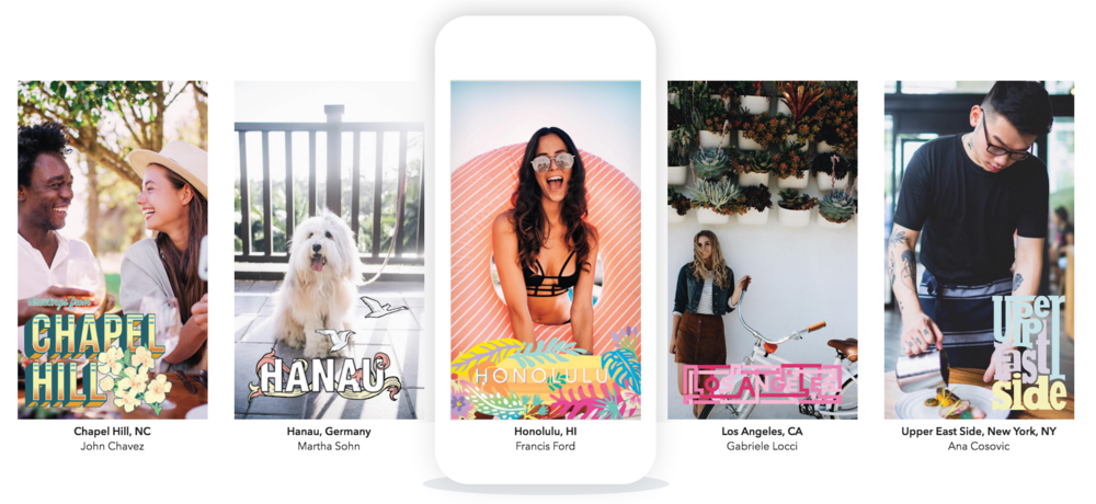 Create your own Geofilters here...