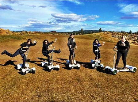 Ride your own golf segway