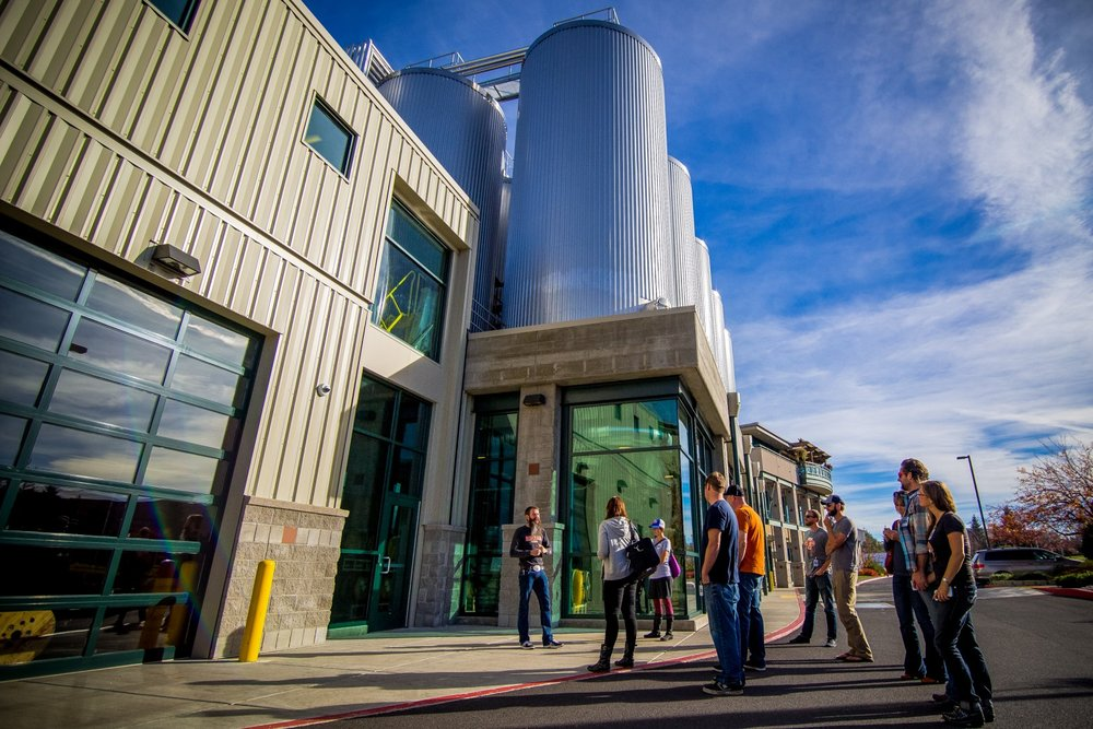 Touring Deschutes Brewing Facility