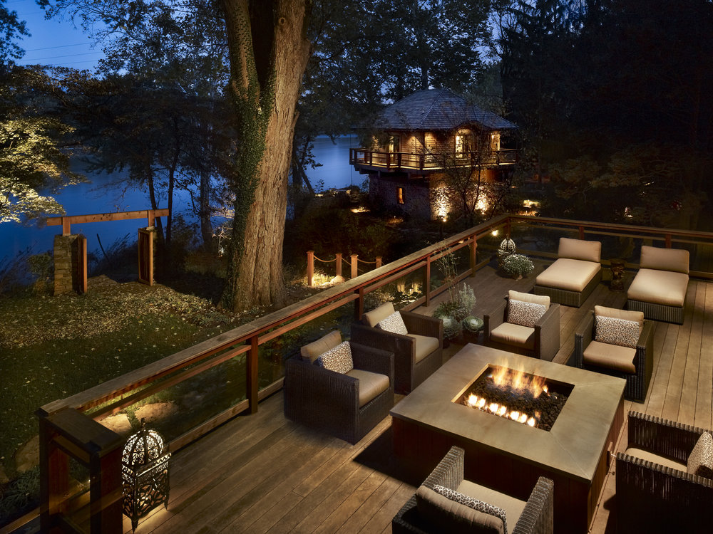 River House Back Patio | Bucks County Builder & Contractor | Custom Homes & Renovations