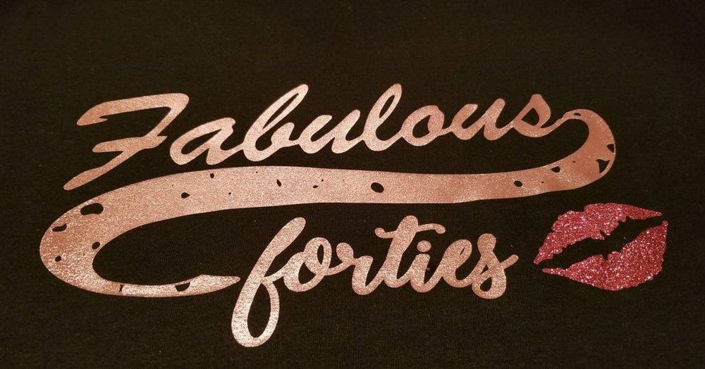 Fabulous Forties tee