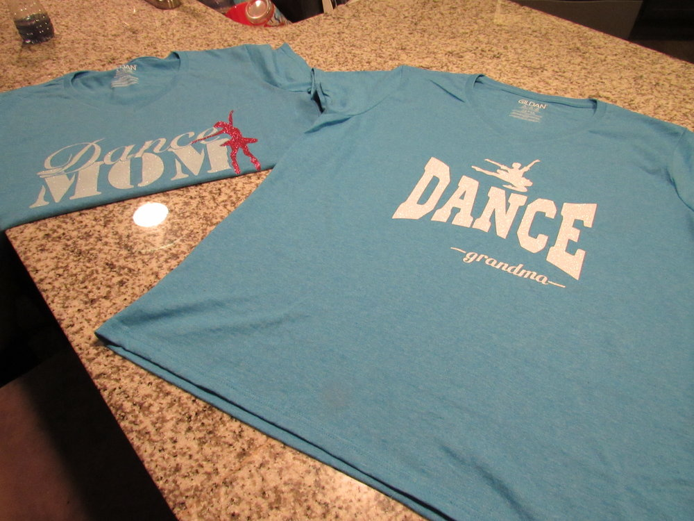 Dance Mom & Dance Grandma Tee