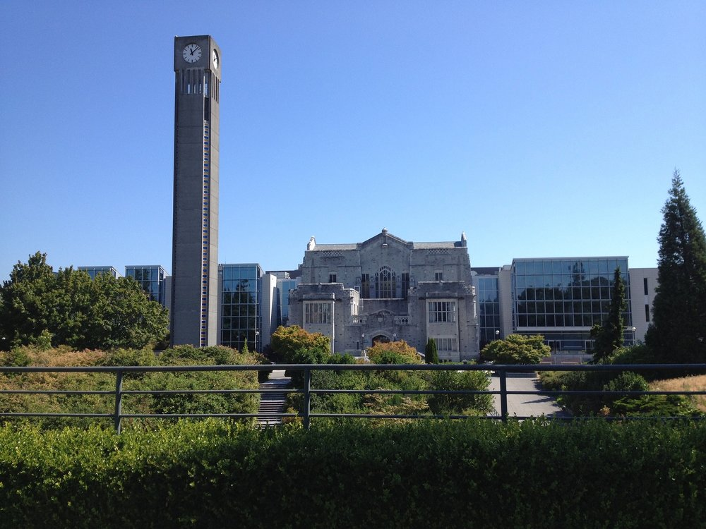 Clock Tower at the University of British Columbia