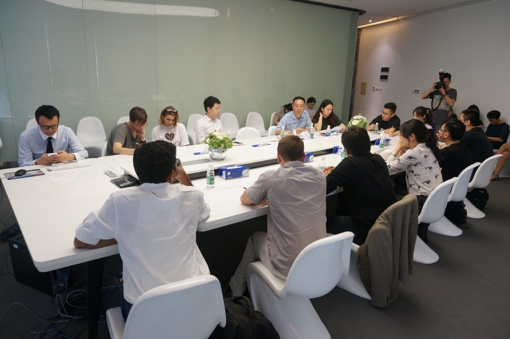 Visit of Haizhi project in Shenzhen