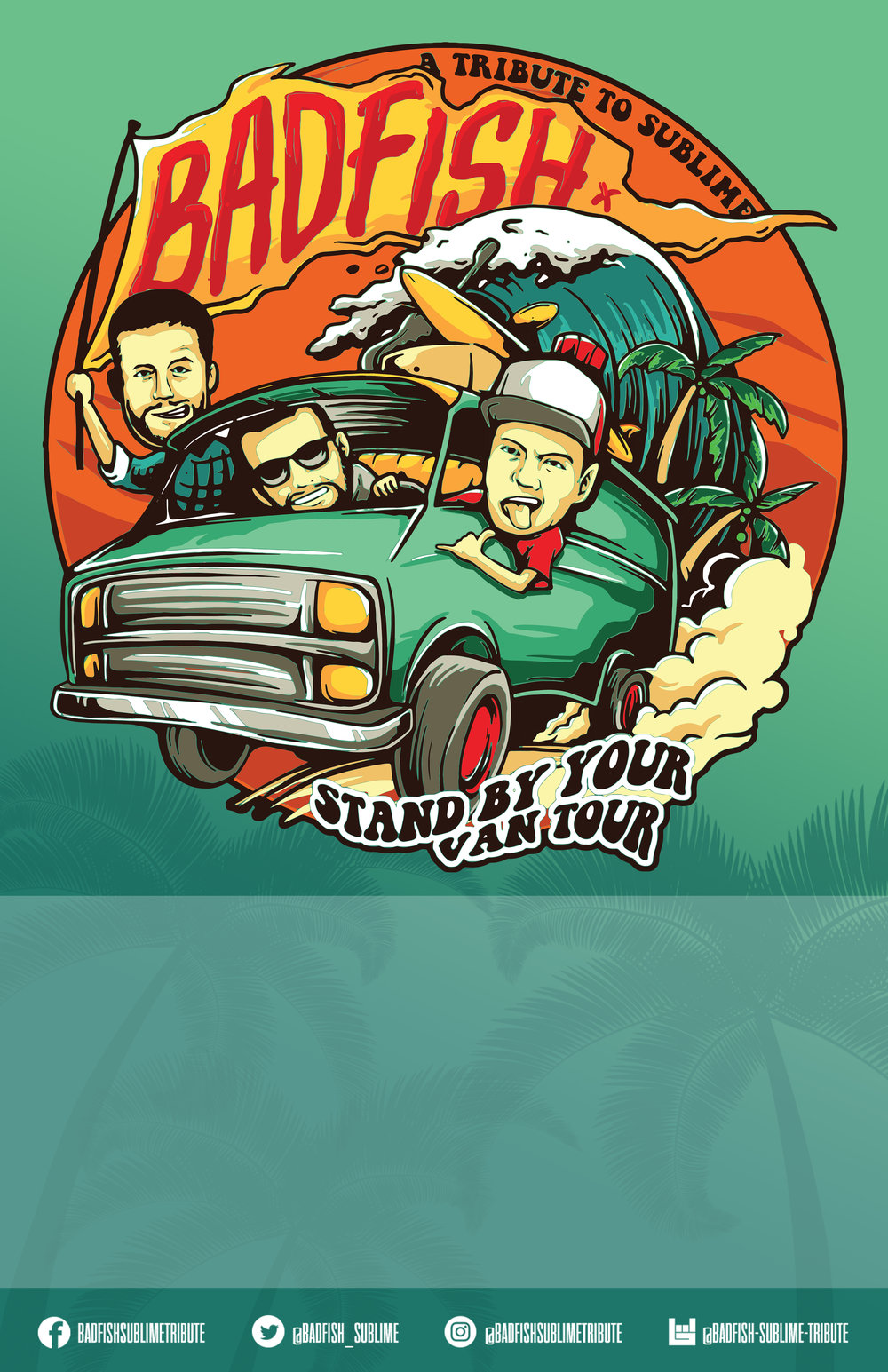 Stand By Your Van Poster Blank