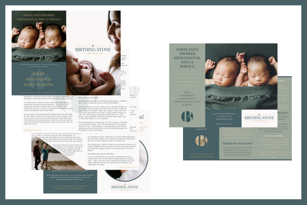 Birthing Stone | Doula | USA