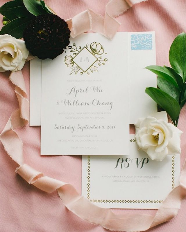 Stationery details 💕 . . 📷: @myonelove | Venue: @descansogardens | 🌿: @luccafloralco | Design & Planning: @madloveevents | DJ: @hiloproductionsevents | HMU: @beautyinmotionstudio | Desserts: @mmcreamery @bottegalouie @enjoyersmile | Silks: @illumesilks . .. . . . #madloveevents #luccafloralco #luccafloralcowedding #descansogardens #descansogardenwedding  #gardenwedding #weddingbouquet #losangeleswedding #romanticgarden #romanticwedding #losangelesweddingplanner #weddingvenue #weddingdetails #weddingdaydesign #weddingdesign #weddingflorals #weddingfloraldesign #floralcrown #bridalbouquet #weddingbouquet #bouquet #floralbouquet #flowercrown #weddingdress #bridalfashion #bridefashion #bridesdress  #losangelesweddingplanner #weddingreception #weddingstationery #weddinginvitations