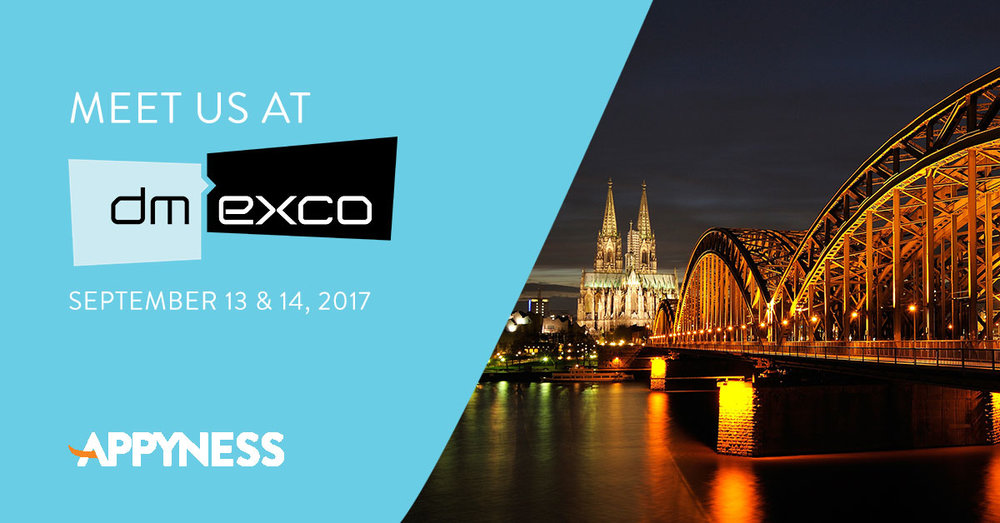 Meet us at DMEXCO. Here's our favorite conference program sessions we're looking forward to.