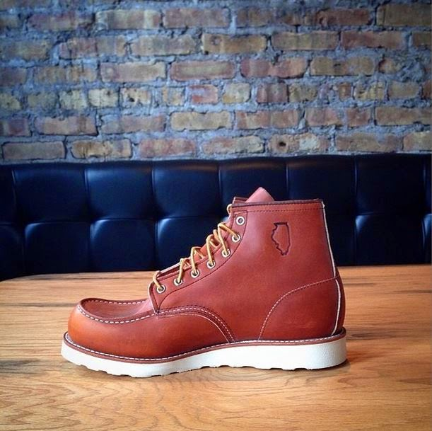 Red Wing 875 Oro Legacy