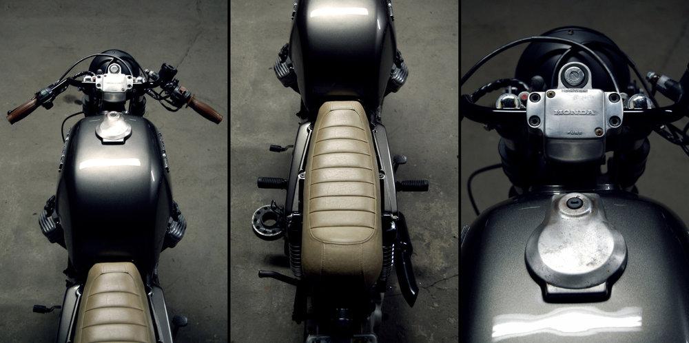 Moto-Mucci Honda CX500 Cafe