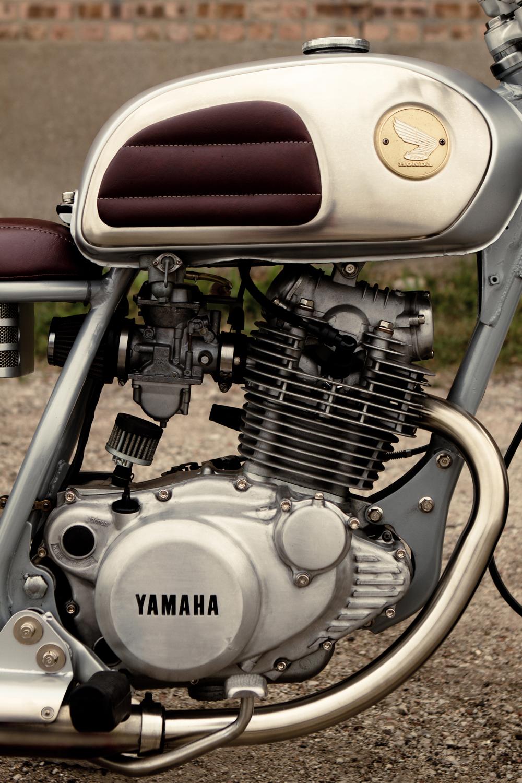 Moto-Mucci Custom 1981 Yamaha SR250