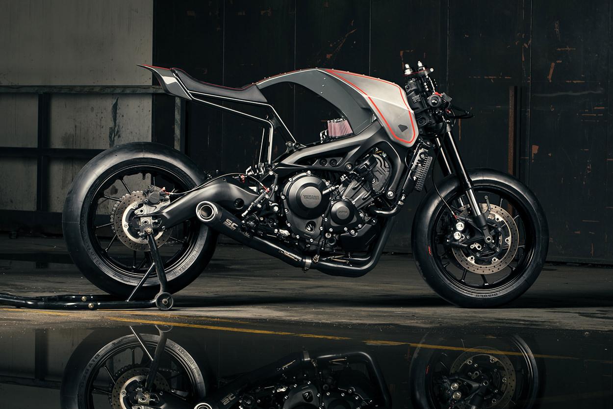 Diamond Atelier Yamaha Xsr900 Custom Moto Mucci 1