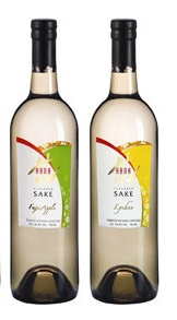 Hana Fuji Apple & Lychee Sake