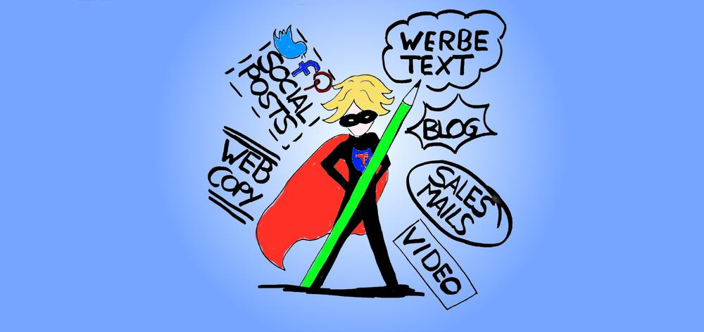Texter sind die Helden der Digitalisierung. Sie ziehen den Karren aus dem Content-Sumpf.