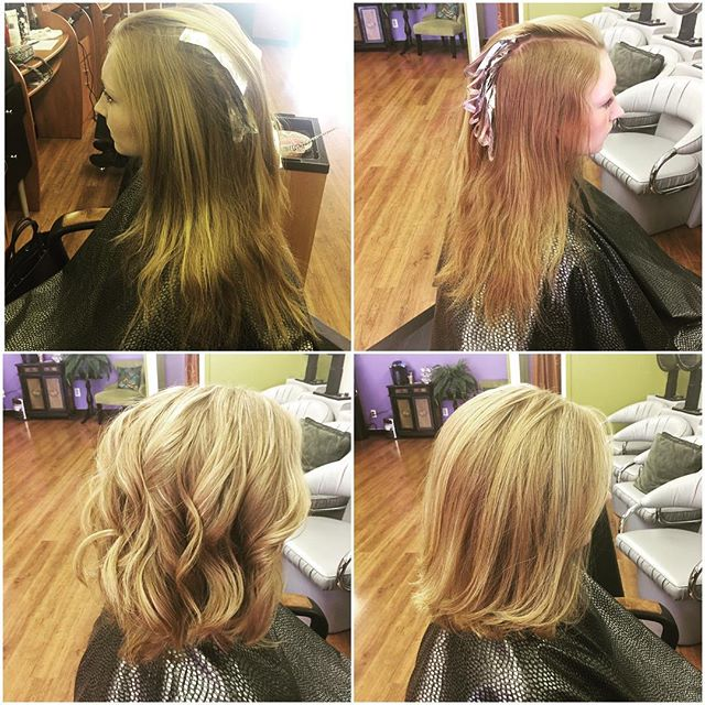 Come get ready for summer with a new look! Cut and highlights done by Cinthia. 💇🏼💇🏻