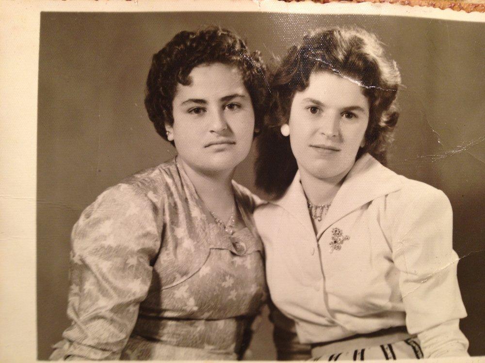 Sania and Siham, 1958