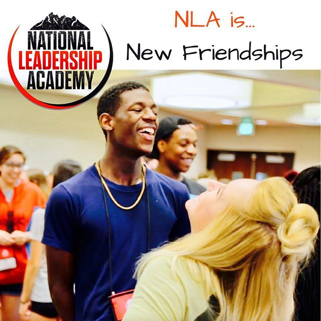 NLA is New Friendships. 🤝 Who is excited to make new friends at #nla2017?! Apply online today! Link in bio ⬆️
