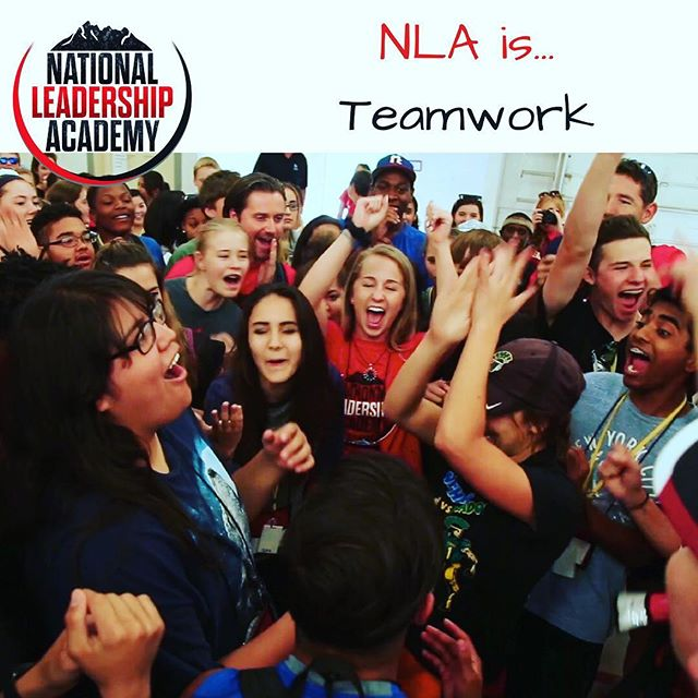 "NLA is Teamwork 🙌🏽❤️ Who is excited to build new friendships with their NLA ""teammates"" this summer at #nla2017 ?! Apply online today -- link in bio 👍🏽"