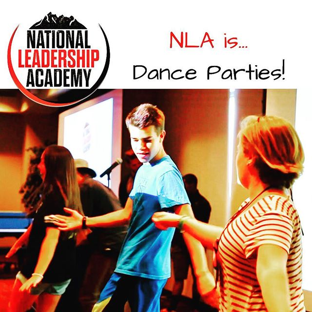 ❤️NLA is...above all else, FUN! 💃🏽🕺🏽 Make your summer count and join us at #nla2017 -- apply online today! Link in bio 👍🏽🚀