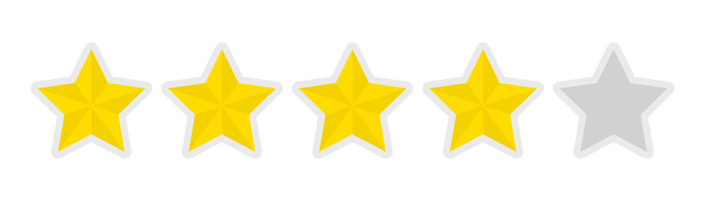 Four stars.
