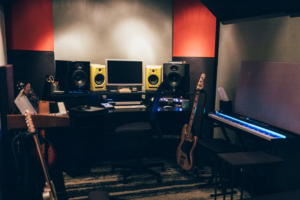 Studio B - Our Vocal Production Suite, and the best deal you'll find for professional vocal recording in New York City.