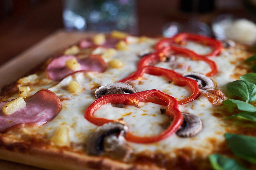 Sicilian Style Pizza