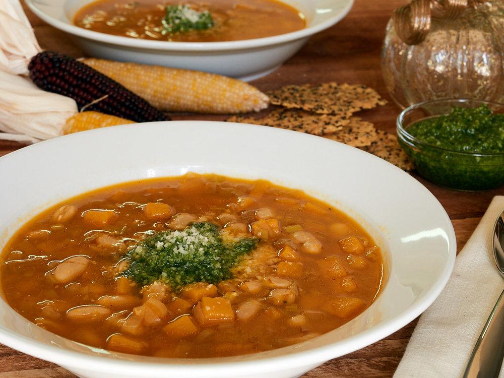 Butternut Squash & White Bean Soup