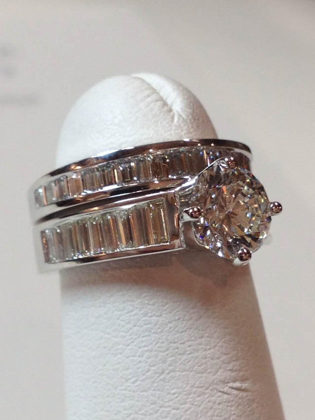 Copy of Diamond Bridal Set
