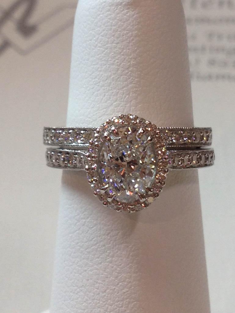 Copy of Diamond Wedding Set
