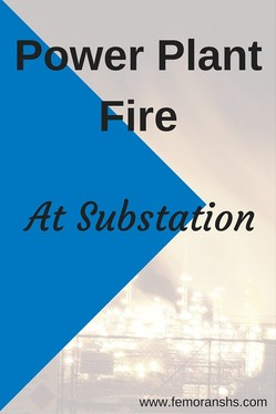 Power Plant Fire at Substation | F.E. Moran Special Hazard Systems