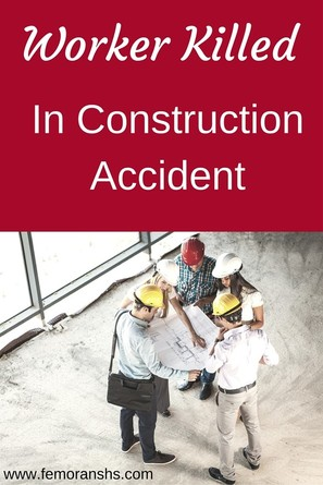 Worker Killed in Construction Accident | F.E. Moran Special Hazard Systems | Construction Safety