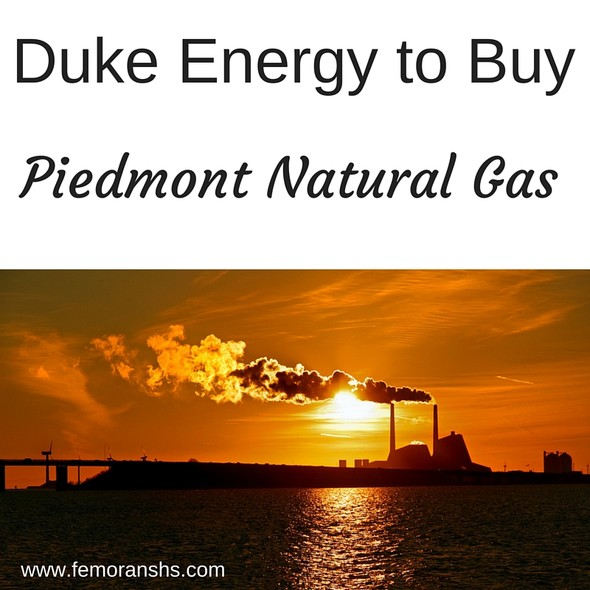 Duke Energy to Buy Piedmont Natural Gas | F.E. Moran Special Hazard Systems
