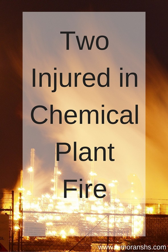 Two Injured in Chemical Plant Fire | F.E. Moran Special Hazard Systems (source:  www.femoranshs.com)