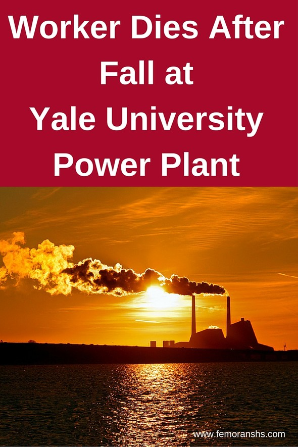 Worker Dies After Fall at Yale University Power Plant | F.E. Moran Special Hazard Systems