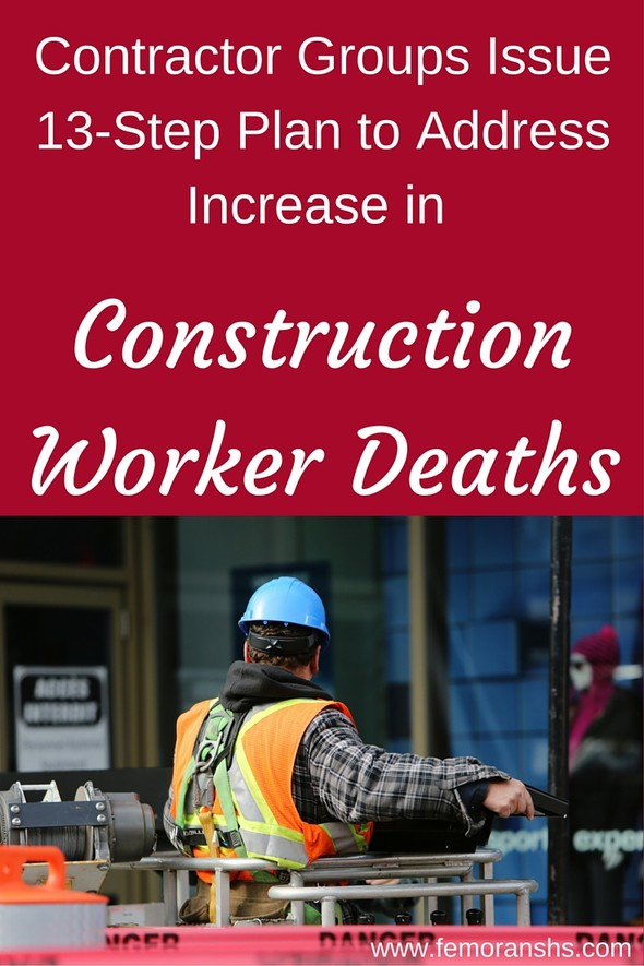 Constractor Groups Issue 13-Step Plan to Address Increase in Construction Worker Deaths | F.E. Moran Special Hazard Systems
