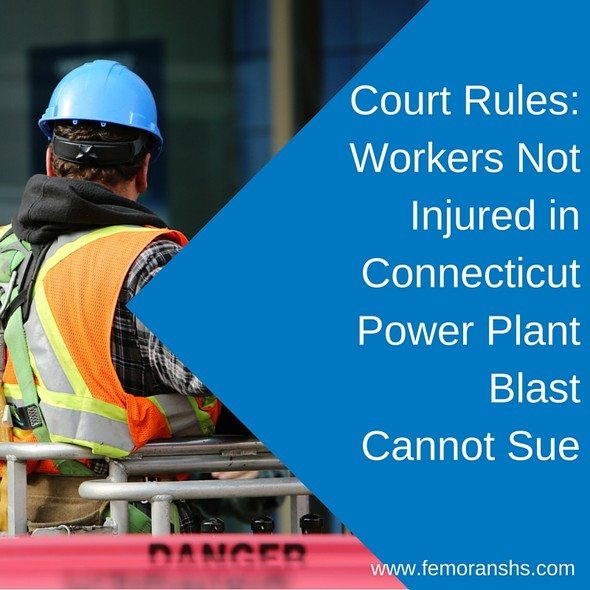 Workers Cannot Sue for Lost Wages Following Power Plant Explosion | F.E. Moran Special Hazard Systems