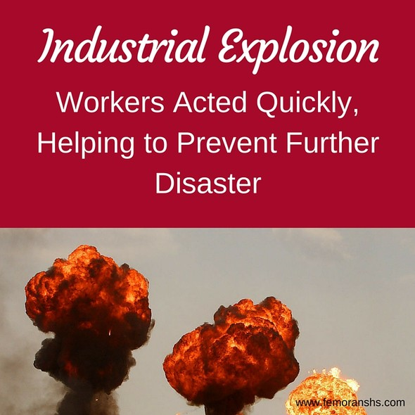 Industrial Explosion | The Moran Group