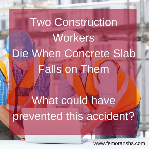 Construction Workers Killed at Construction Site | The Moran Group