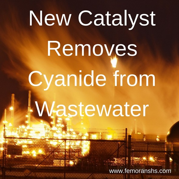 New Catalyst Removes Cyanide from Wastewater | F.E. Moran Special Hazard Systems