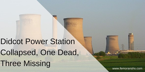 Didcot Power Station Collapsed | F.E. Moran Special Hazard Systems