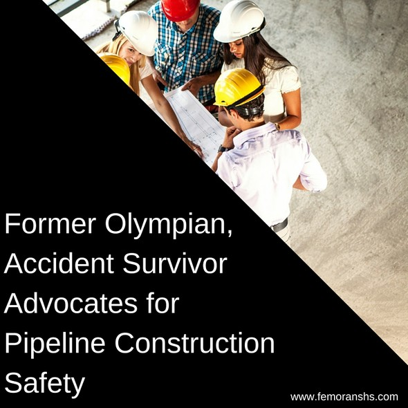 Former Olympian, Accident Survivor Advocates for Pipeline Construction Safety | The Moran Group