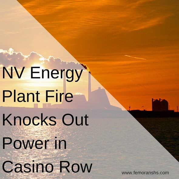 NV Energy Plant Catches Fire | F.E. Moran Special hazard Systems