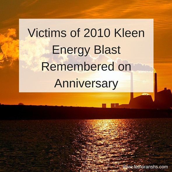 Victims of 2010 Kleen Energy Blast Remembered on Anniversary