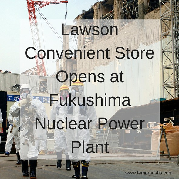 Lawson Convenient Store Opens at Nuclear Power Plant